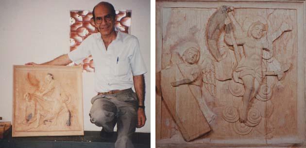 Helio Petrus - Escultor dos quadros da Via Sacra