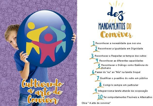 Dez Mandamentos do Conviver