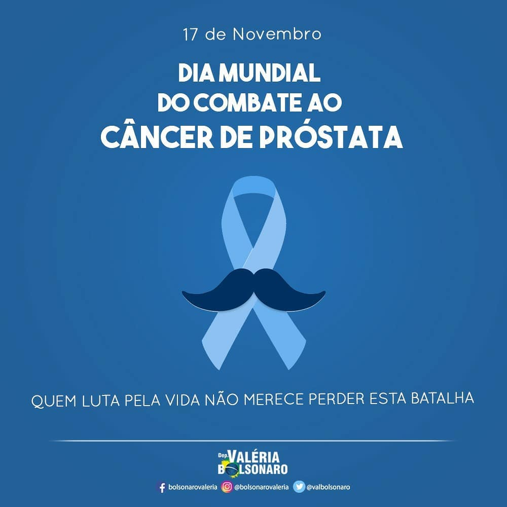 Dia Mundial ao Combate ao Cancêr de Próstata